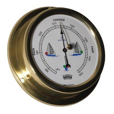 Haushaltsgeräte Altitude 858nl Schiffsbarometer Messing 127mm Krankheiten Zu Verhindern Und Zu Heilen Bootsport