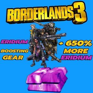 Borderlands 3 Eridium Increasing/Boosting Gear PS5 PS4 Xbox One X/S