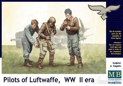 Masterbox 1:32 Pilots of Luftwaffe WWII Era