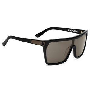 85c600bdc87 Spy Flynn Sunglasses - Black  Matte Black - Happy Grey Green - New ...