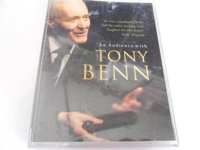 AN AUDIENCE WITH TONY BENN  2 CASSETTES