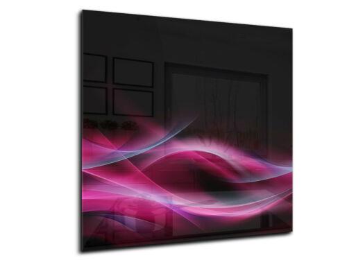 Küchenrückwand aus gehärtetem Glas 80x70 cm Glaspaneel  Fliesenspiegel