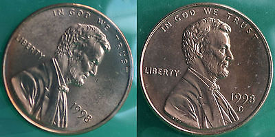 1978 P and D Lincoln Cent 2-Coin from US Mint Set UNC Cello One Cent Penny Set