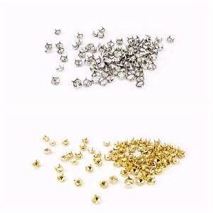 100pcs-Fashion-punk-Diamond-Cut-Nail-Head-Studs-in-Silver-Gold-for-Leather-Craft