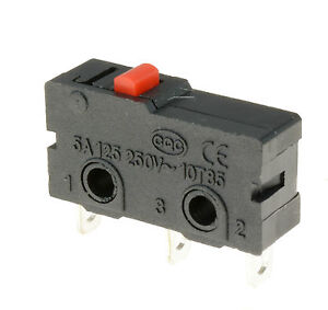 5-x-Push-Button-Microswitch-SPDT-5A-Micro-Switch