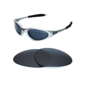 dd5db8d51b Image is loading NEW-POLARIZED-BLACK-REPLACEMENT-LENS-FOR-OAKLEY-MINUTE-