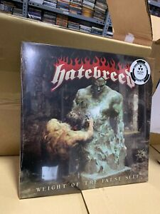 Hatebreed LP Weight Of The False Self Limited Edition Black Vinyl Versiegelt