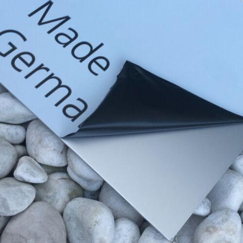 Aluminium Blech Eloxiert Individuell zuschnitt Alu//Elox 1,5mm und 2 mm mit Folie