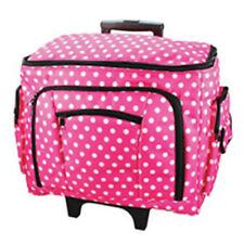 Birch 006108-PINK-DOT   Sewing Machine Trolley Bag   47x38x24cm