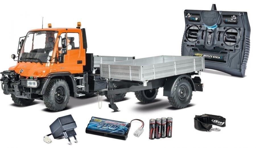 Carson Unimog U300 With Trailer 2.4G RTR RC Model Car 1 12 500907213 Genuine New