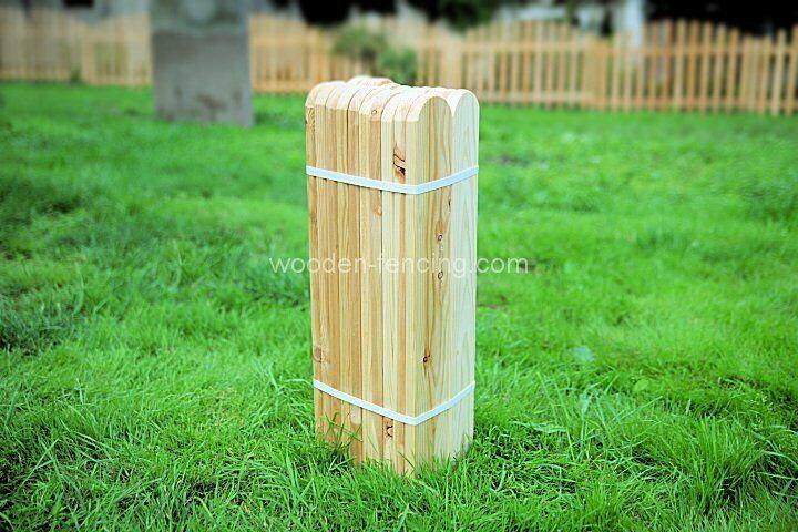 Zaunlatten 100x9x2 sibirische Lärche A klasse Holzzaun Zaunlatte super 10stk.