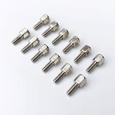 25pcs Brass 4 40x57 Jackscrew Cylinder Screw Motherboard Vga Db9 Dvi Com Port