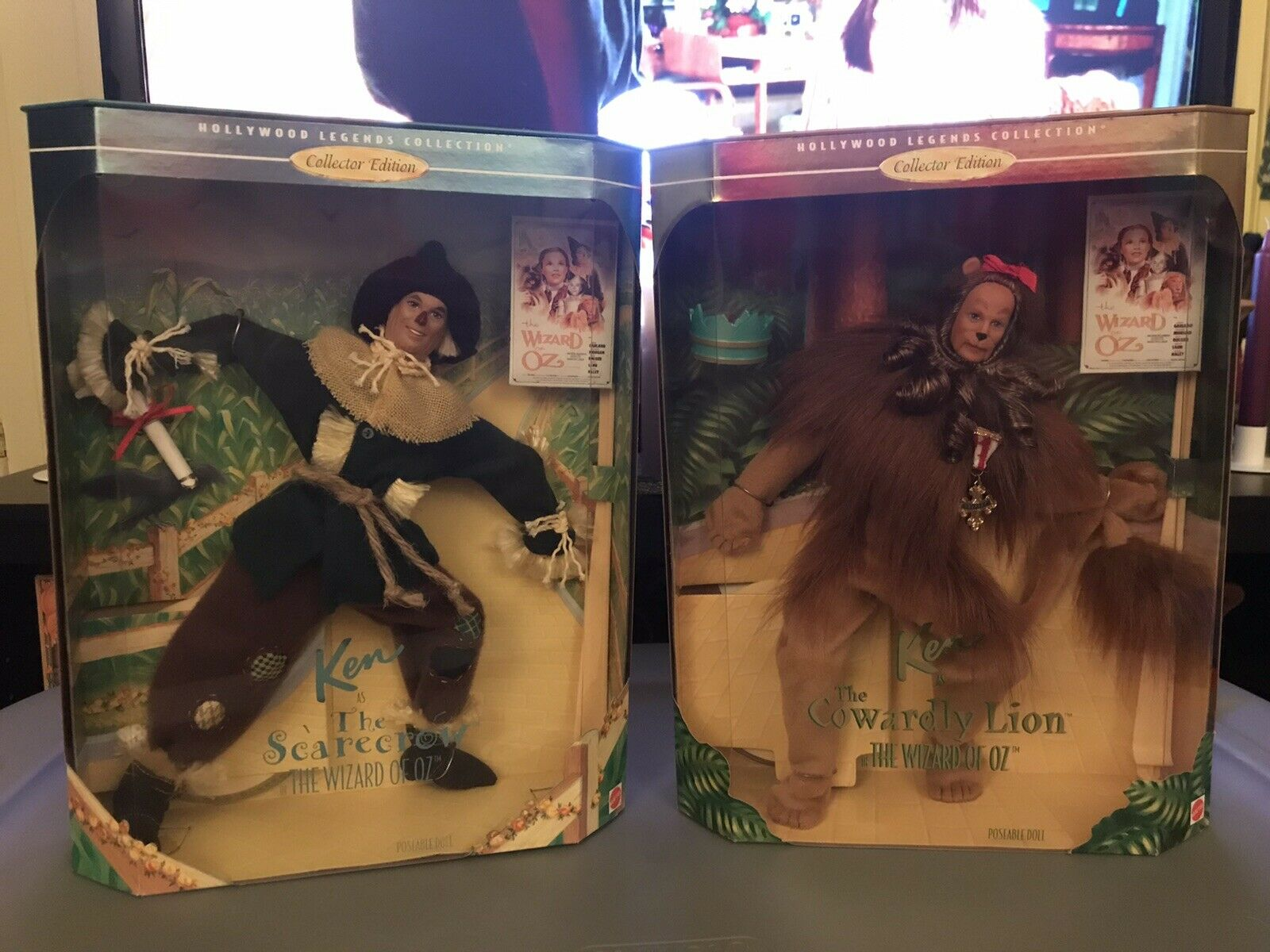 Wizard Of Oz Barbies Hollywood Legends Collection