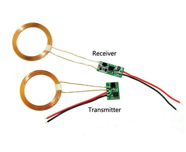 1pcs Wireless Charging Transmitter+Receiver Solution Module DC 5~12V For Arduino
