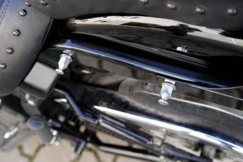 HD ab 1984 Buffalo Bag Satteltaschen Halter verstellbar Harley Softail Bj