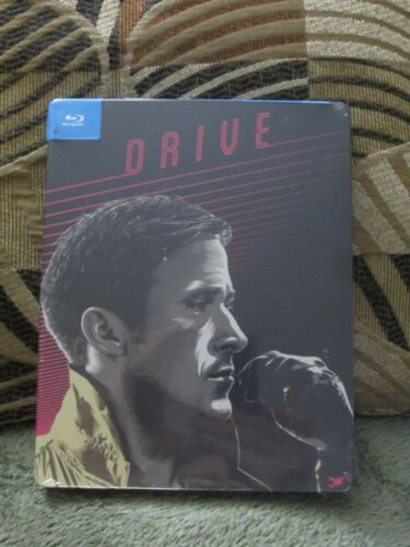 Drive Blu-Ray Steelbook Region A New Pop Art Exclusive Action Ryan Gosling Mint