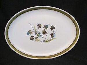 Oval Platter Denby SHAMROCK