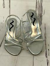 471a69dc8cbd item 2 Nina Strappy Heeled Dress Sandals Womens Size 9.5 US 39.5 EUR Silver  Slingback -Nina Strappy Heeled Dress Sandals Womens Size 9.5 US 39.5 EUR  Silver ...