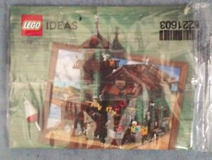 LEGO-Ideas-Fishing-Store-21310-Instruction-Booklet-book-Manual-ONLY-NO-BRICKS