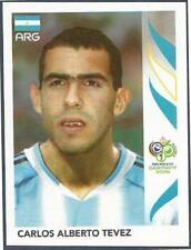 PANINI FIFA WORLD CUP-GERMANY 2006- #187-ARGENTINA-CARLOS ALBERTO TEVEZ