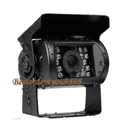 4 Pin IR Nachtsicht CCD Rückfahrkamera Rückfahrkamera Wasserdicht 15m Kabel
