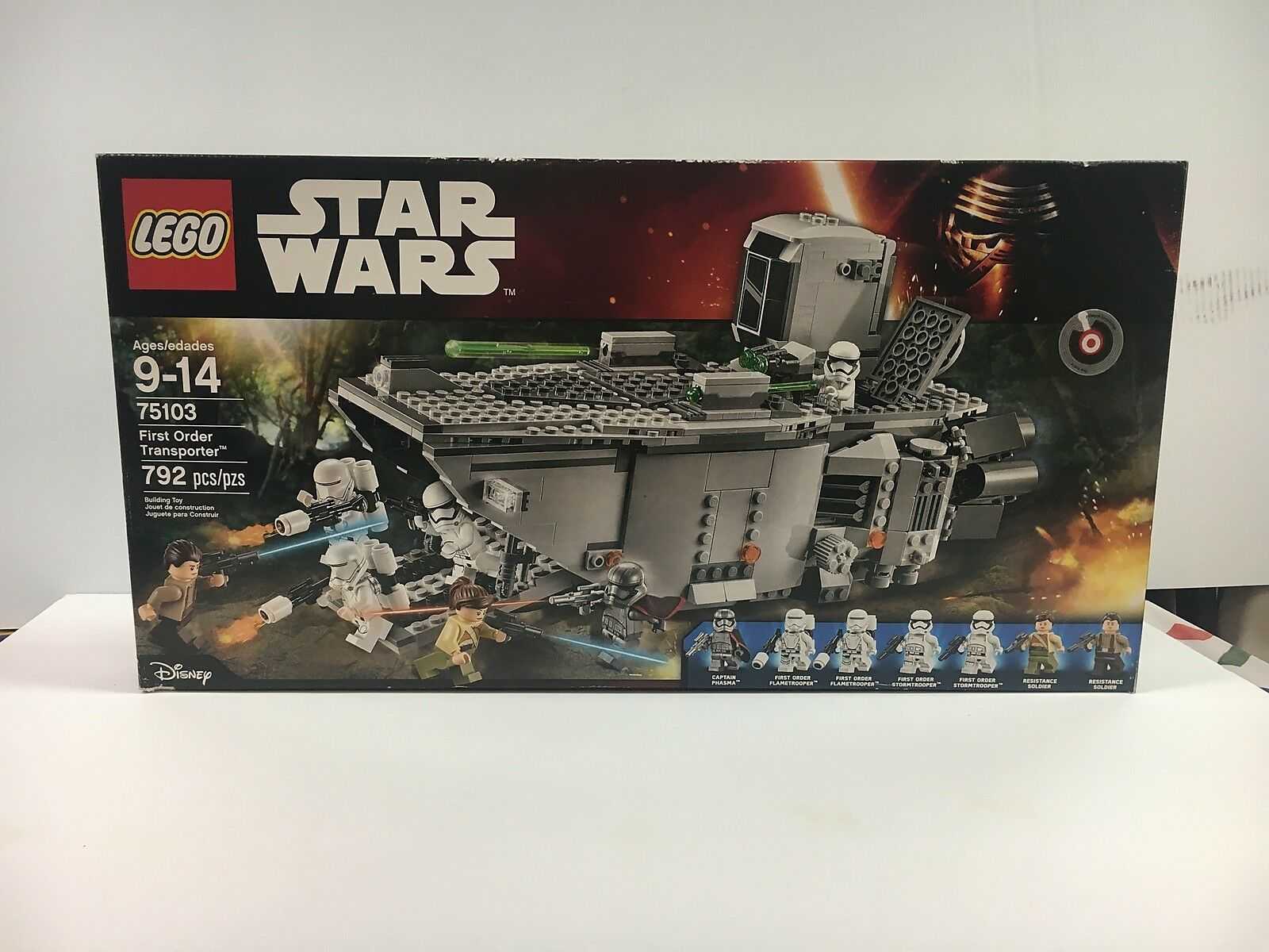 LEGO NEW NIB 75103 First Order Transporter