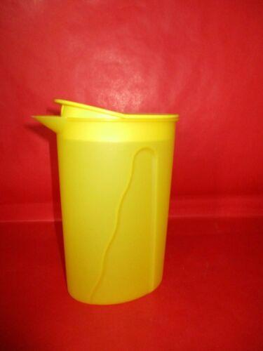 Tupperware Junge Welle  Kanne 1 Liter  Saftkanne  Gelb