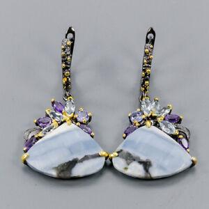 Blue-Opal-Earrings-Silver-925-Sterling-Fashion-Earrings-Women-E41042