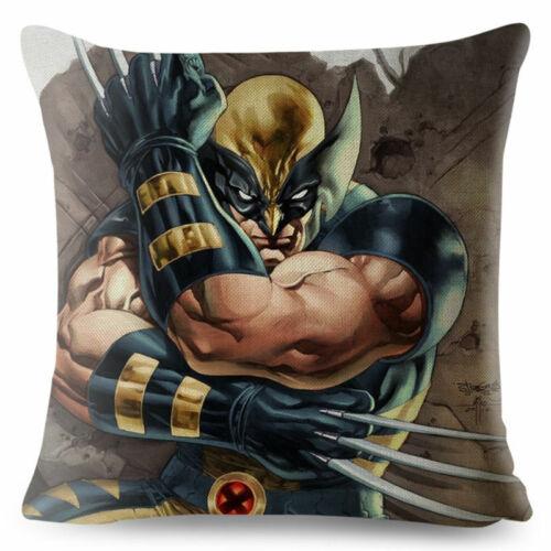 Cushion Cover Sofa Superman Spider man Iron Man Pillow Case Decor Pillow Cover