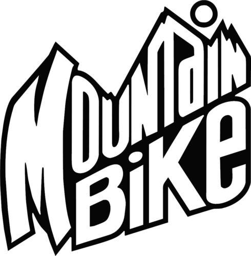 Mountain Bike Decal Sticker for DH downhill enduro xc truck mtb USA Seller!