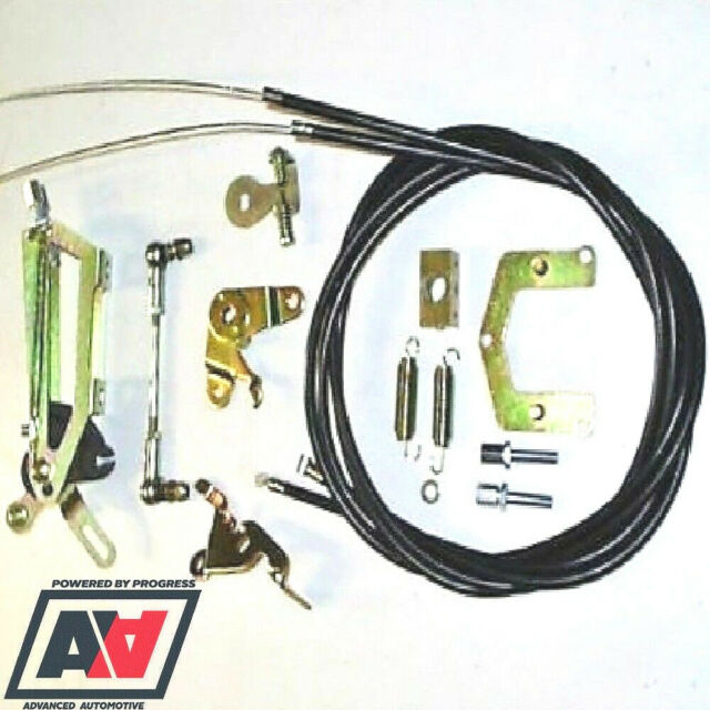 WEBER DCOE//SP CARB//CARBURETTOR THROTTLE LINKAGE LP2000 TOP MOUNT TWIN CABLE NEW