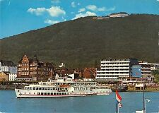 B98807 konigswinter am rhein mit petersberg   germany berlin  ship bateaux