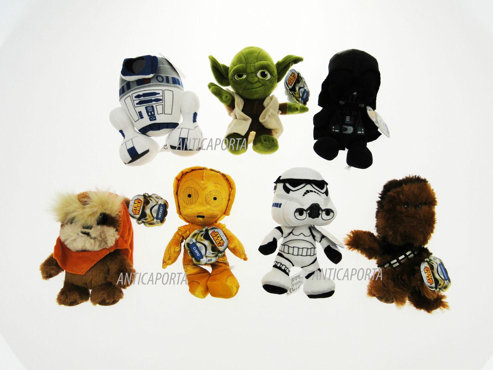 Soft toy Star Wars Original The Awakens of Strength Yoda Dart Vader 14-18 cm