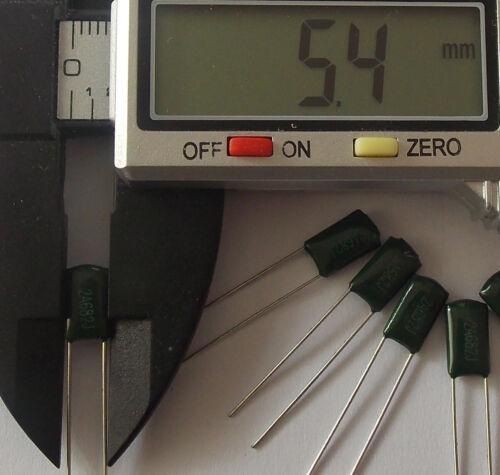 . Packs of 1-20 . 6.8nF 630V 2A682J Polyester Film Capacitors  .. . ..
