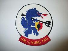 b4631 US Navy Vietnam HAL 3 Seawolves Vung Tau Hand Emb IR25A