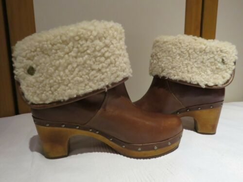 tronchetti zoccoli donna grigi UGG w lynnea scarpe ankle