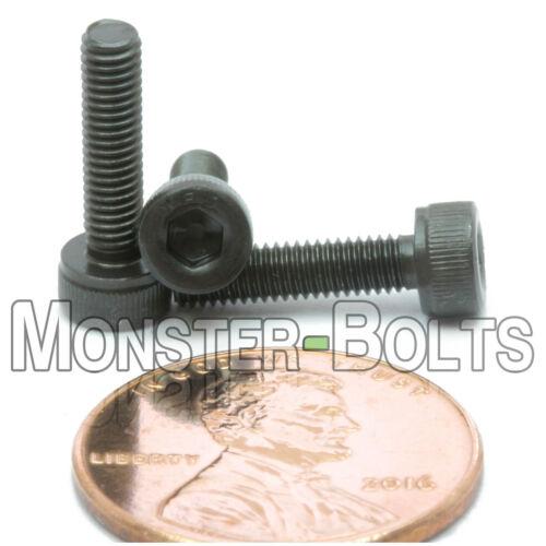 3mm M3 x 12mm Qty 10 SOCKET Cap Screws Alloy Steel 12.9 DIN 912 Blk Oxide
