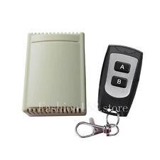 2 key 2 Channel 315MHz RF Remote Control Replacement Garage Door Opener Receiver