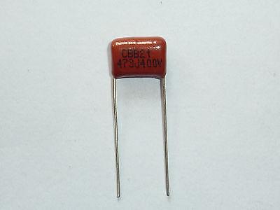 10PCS CL21 473K 250V 0.047UF 47NF P8 Metallized Film Capacitor