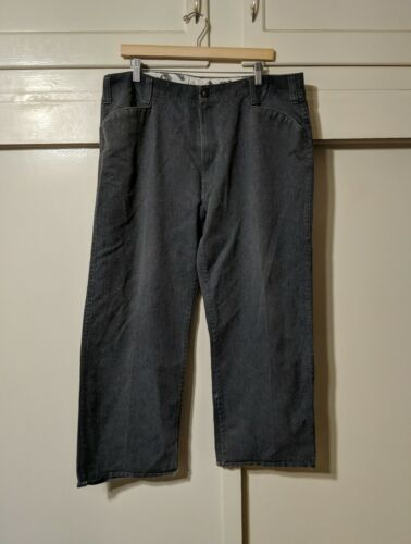 vtg Ben Davis Grey Work Pants size 38 west coast G
