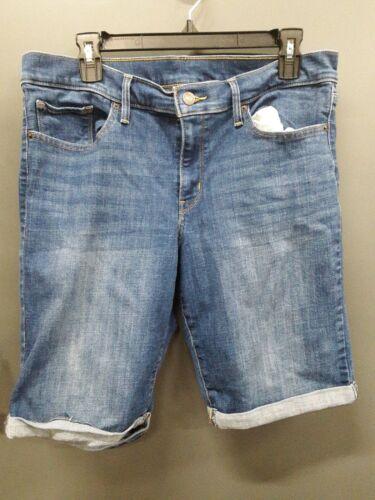 Levi Strauss & Co. Bermuda Blue Jean Shorts Womens