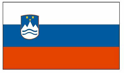 SLOVENIA Vinyl International Flag DECAL Sticker MADE IN THE USA F460