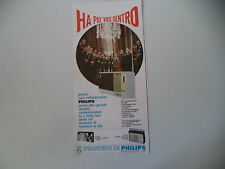 advertising Pubblicità 1967 RADIO PHILIPS FM 10 TRANSISTOR