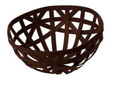 ENO STUDIO brown basket leather / cesto in pelle marrone
