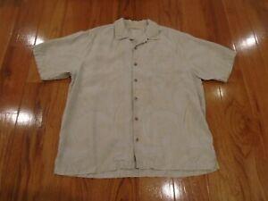 Tommy-Bahama-Mens-Extra-Large-XL-100-Silk-Hawaiian-Camp-Shirt-Floral