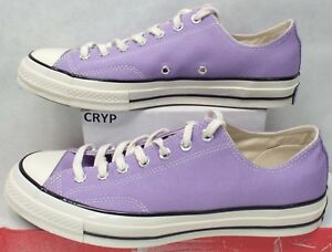 2023ad0ebdb6 New Mens 10.5 Converse Chuck Taylor All Star CTAS 70 OX Frozen Lilac ...