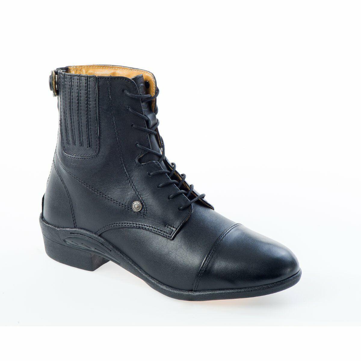 Suedwind Stivali Oxford Ultima Rs Pelle Nera MONTALA stivali stivali di pelle