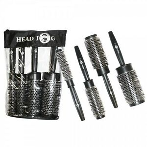 Head-Jog-Professional-Heat-Retaining-Round-Brush-07-12-15-25-35-45mm-Quad-Set