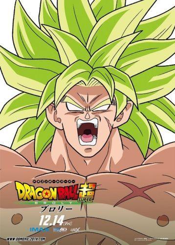 Art Dragon Super Guko Broly Movie Poster 20x30 24x36 Characters Film P1404