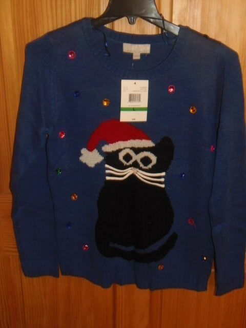 Carolyn Taylor Women/'s Christmas Knit Pullover Sweater Size Large